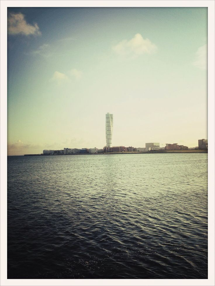 Malmö in the morning.