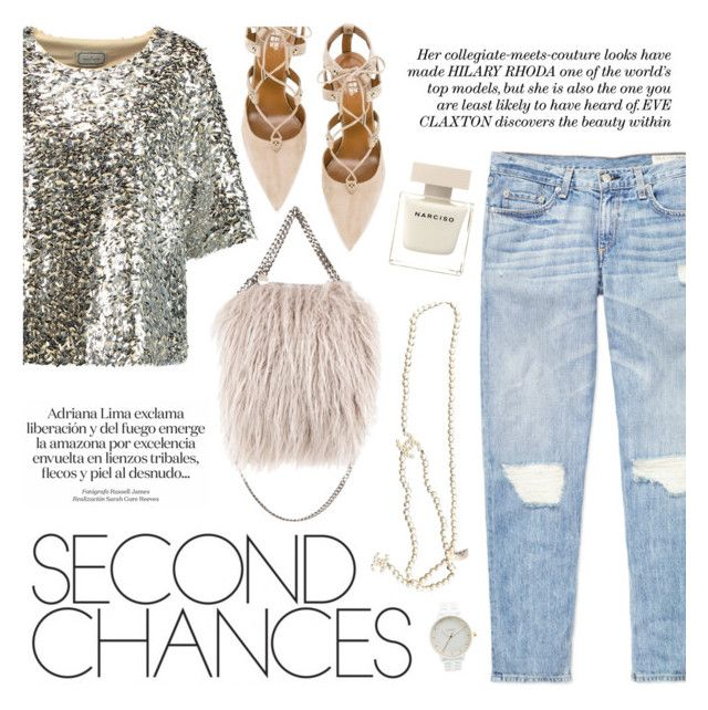 """Second chances"" by honestlyjovana ❤ liked on Polyvore featuring By Malene Birger, STELLA McCARTNEY, rag & bone, Aquazzura, Chanel and Nixon"