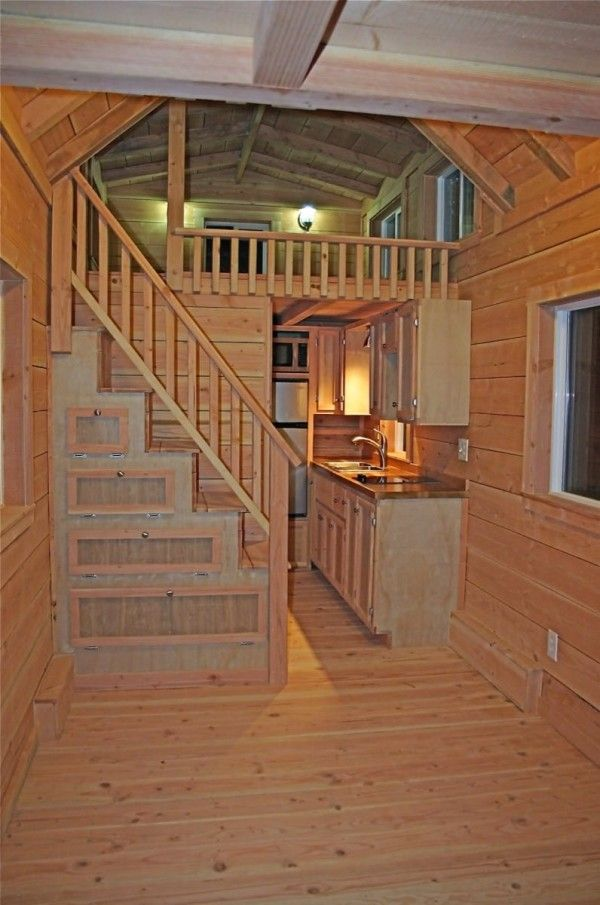 Love this! Very liveable!!! Molecule Tiny House w/ 2 Lofts, Bath, & Real Stairs