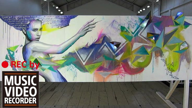 """""""Create"""" Live Painting with AYUMI feat. The Lo-fi 