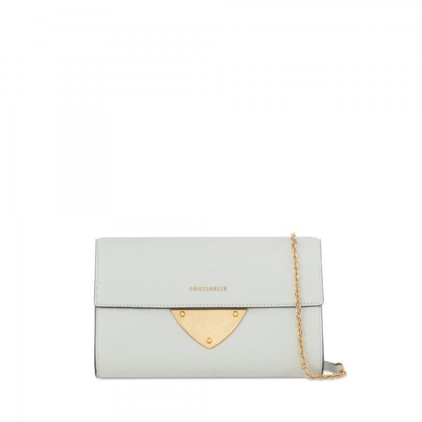 Coccinelle Pochette in leather - Coccinelle Bags