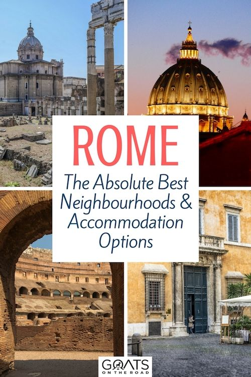 Planning a trip to Rome? Check out this comprehensive guide on where to stay in Rome, including the best hotels and what to do in the Eternal City | #rome #italy #romehotels #bestofrome #romeguide #visitrome #visititaly #bestofitaly #travel