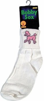 Adult Bobby Socks - 50's Sock Hop Costumes - Candy Apple Costumes $5.99