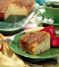 I found this recipe for Apple Crumb Coffee Cake, on Breadworld.com. You've got to check it out!