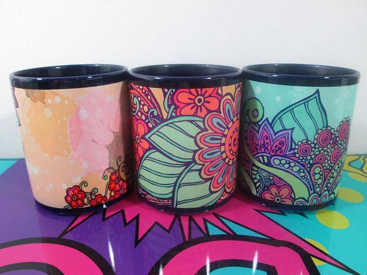 Mugs Colección Floral - Imaginaerum Regalos Bogotá