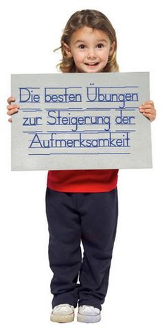 Erprobte und bewährte Aufmerksamkeitsübungen  für Kinder mit Schreib-, Lese- und/oder RechenproblemenWeiterlesen ›                                                                                                                                                                                 Mehr