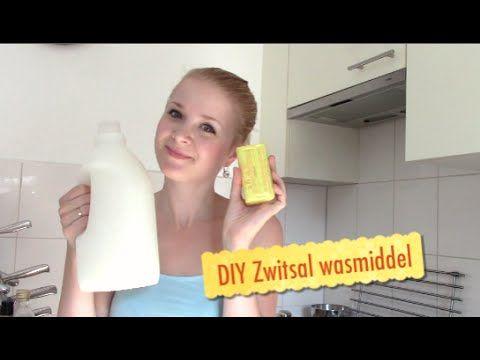 Zelf wasmiddel maken met de Zwitsal geur DIY - Kelly caresse - YouTube