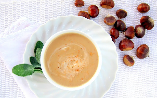 Creamy & Dreamy: Potage di Marroni - Chestnut Soup | hip pressure cooking - pressure cooker recipes & tips!