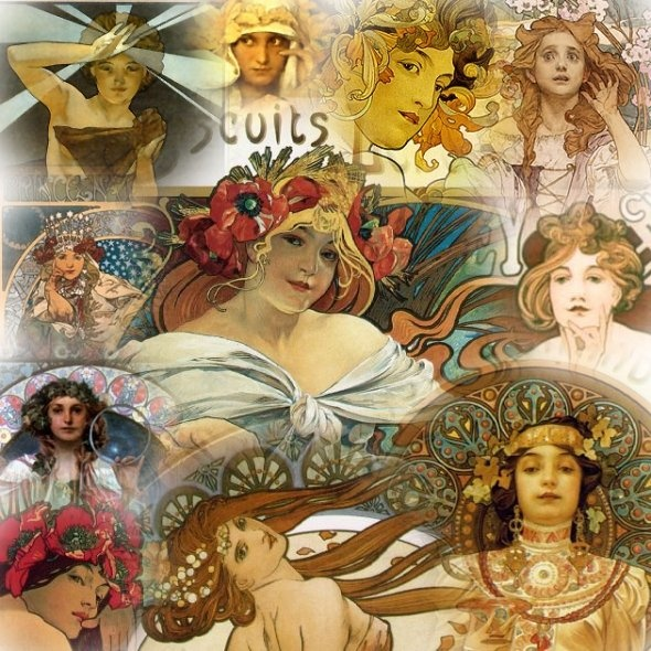 Alfons Mucha-Art Nouveau
