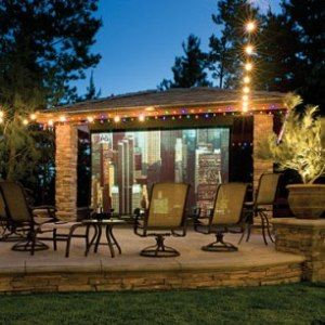 Genial Backyard Theater