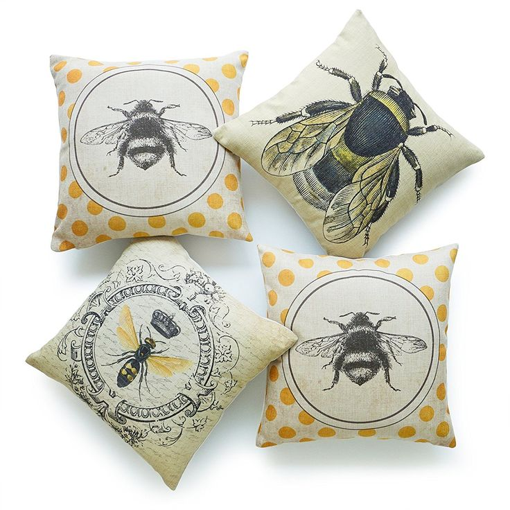 Love These Bee Cushions Sponsored Link Bees Homedecor Bumblebee