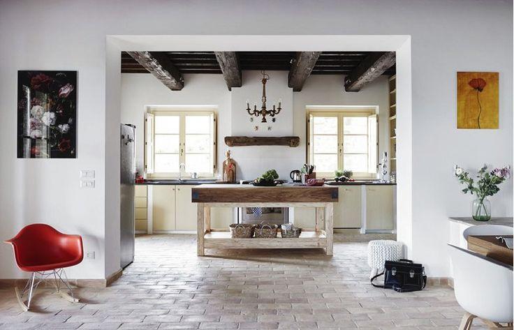 Casa Refogliano, perfetto mix di stile country e moderno