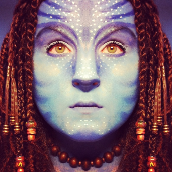 Avatar make-up look