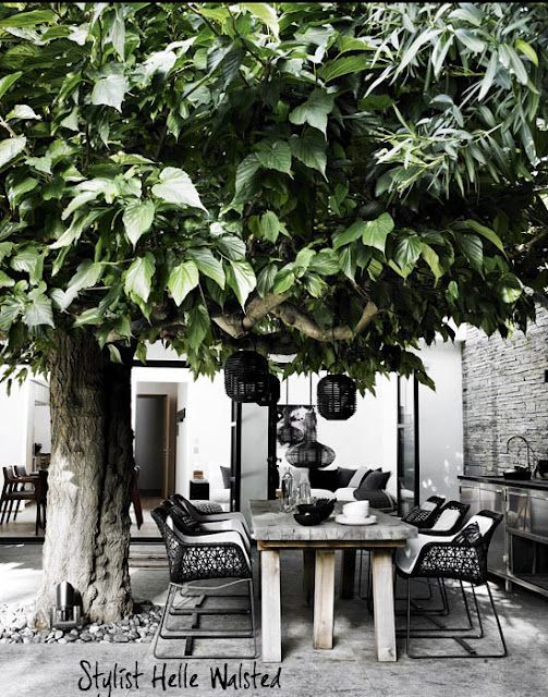 (via my scandinavian home: White, wood and black in Italy)