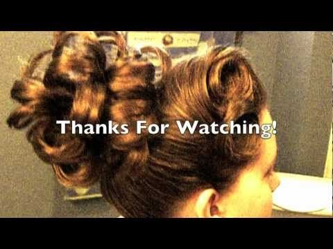 """""""Larger Than Life"""" Apostolic/Pentecostal Hair. I have to say these ladies are very creative with thier hair!"""