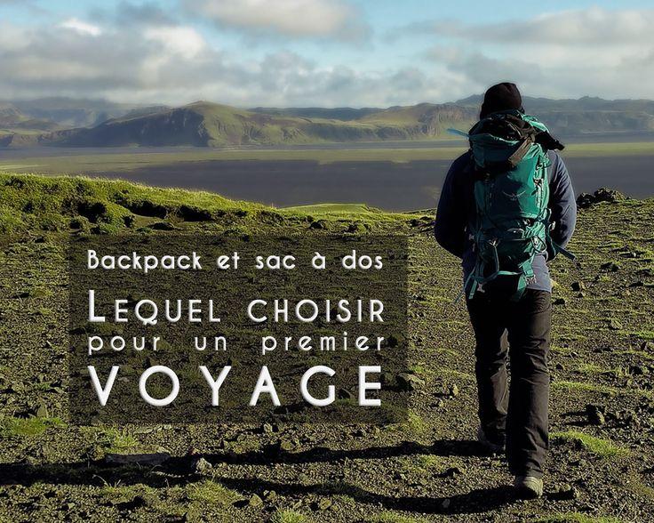 Premier sac à dos pour un voyage