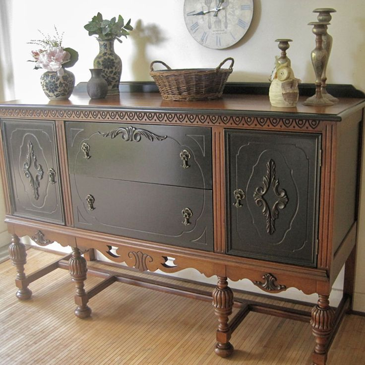 ANTIQUE SIDEBOARD NO  2   What s your preference. Best 25  Antique sideboard ideas on Pinterest   Antique buffet