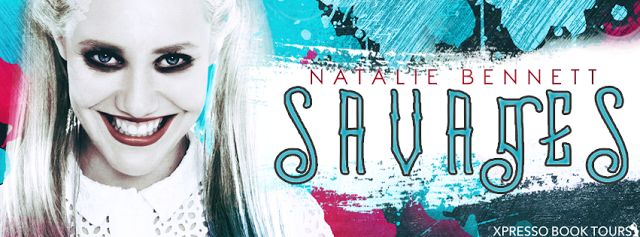 Sinfonia dos Livros: Cover Reveal | Savages | Natalie Bennett