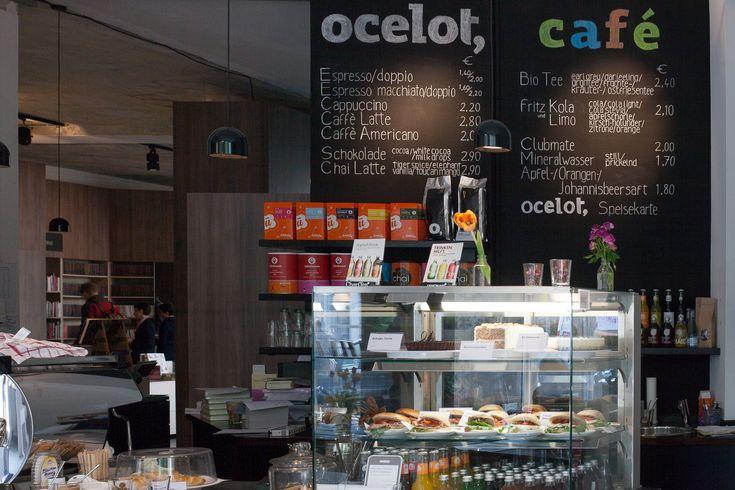 Ocelot Bookcafé Brunnenstr. 181 10119 Berlin Open Monday – Saturday 10am – 8pm Contact: Contact Form