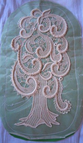 Italian needle lace