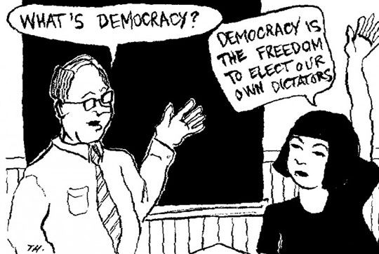 The True Meaning Of Democracy