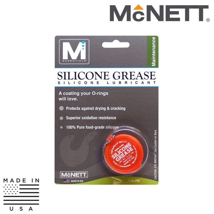 """McNett M Essentials 26120 Silicone Grease Silicone Lubricant - 1/4"""""""