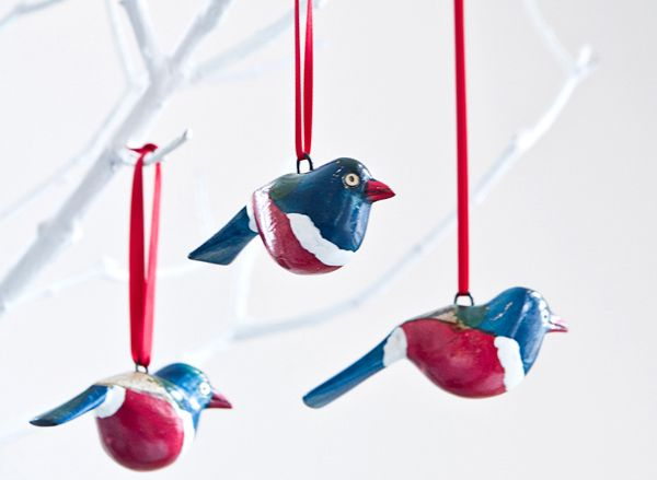 BLUE-RED BIRD ornaments Design Mifuko Mifuko www.mifuko.fi Photos Uupi Tirronen