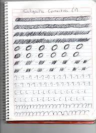 ejercicios de caligrafia para secundaria pdf