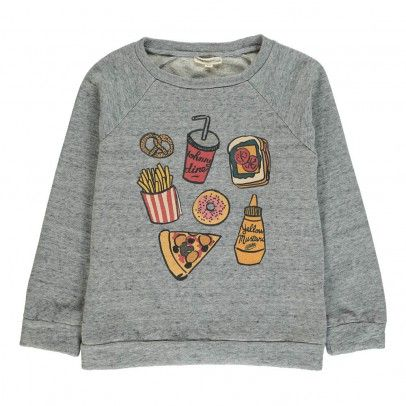 Sweat Yummy Gris chiné  Hundred Pieces