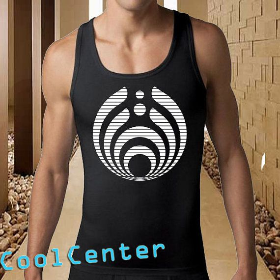 Bassnectar Logo  men tank top print screen tank top by CoolCenter