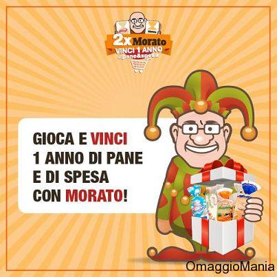 Vinci premi di pane e buoni spesa con Morato - http://www.omaggiomania.com/concorsi-a-premi/vinci-premi-di-pane-e-buoni-spesa-con-morato/
