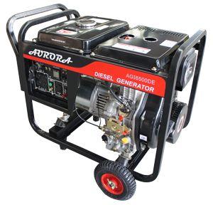 best diesel generators images generators aurora  6500 watt portable diesel generator don t get left if the dark