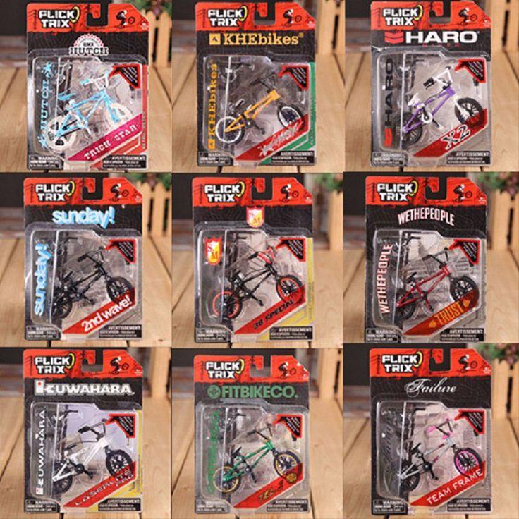 Abbyfrank Mini Finger BMX Flick Trix Finger Bikes Gadgets Tech Deck BMX Toys Professional Bicycle Novelty Gag Toys Classic Game