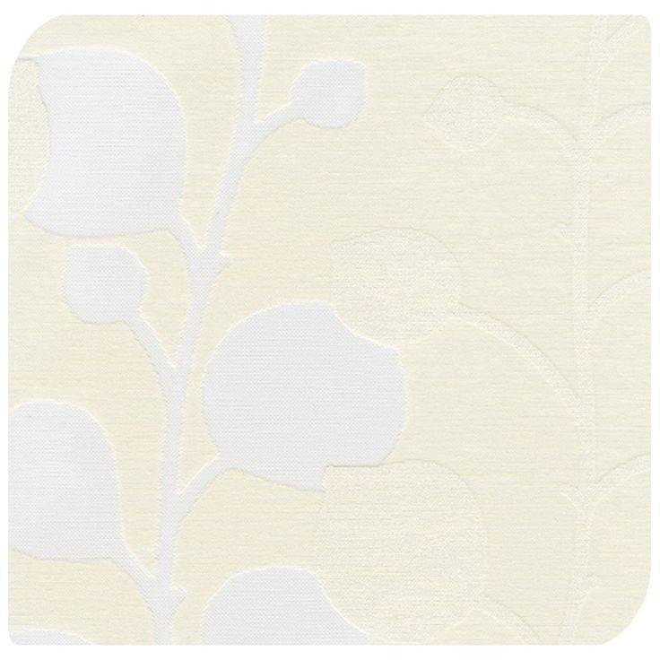 Vines Cream Roller Blind