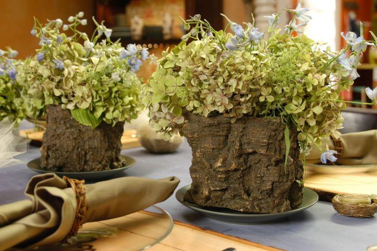Rustic Floral Centerpieces | Fancy Home Decor