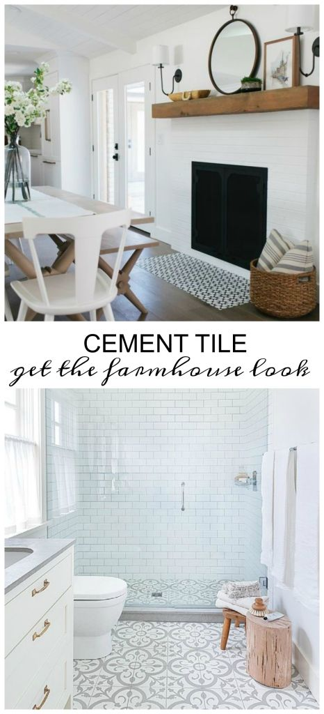 Cement Tile:6 Great Ways to Get the Farmhouse Look