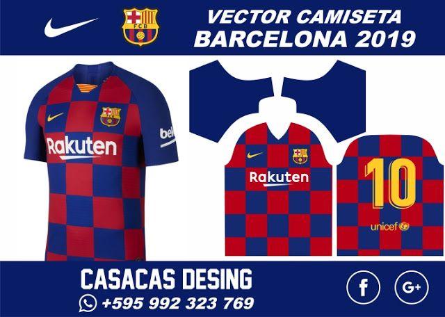 Download Camiseta Barcelona 2019 2020 Vector Casacas Design Sports Tshirt Designs Soccer Jersey Soccer Outfits