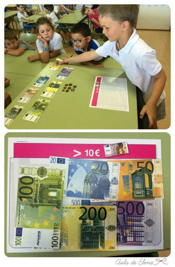 Aula de Elena: Actividades con euros