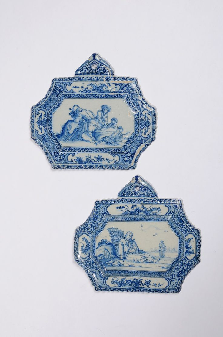 Collection item D8206. Pair of Blue and White Octagonal Plaques Delft, dated October 5, 1726  Painted with two genre scenes engraved by Frederick Bloemaert (1614/17-1669)  23.1 x 25.6 cm. (9 1/16 x 10 1/16 in.)     Share      Download Download larger image    Images on this website are licensed under a Creative Commons Attribution-NoDerivs 3.0 Unported License.