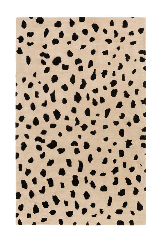 Animal Print Rug #leopard #cheetah #spotted #beige