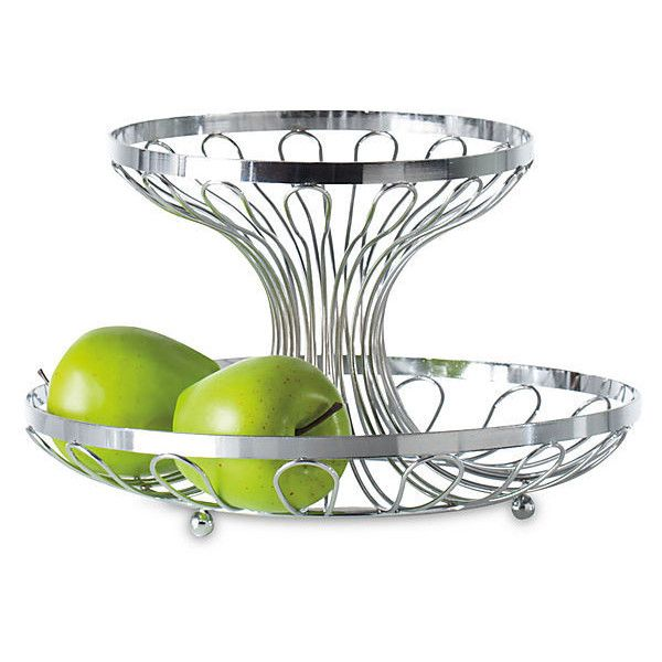 2 Tier Fruit Bowl Food Storage Containers 39 Cad Liked On Polyvore