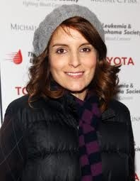 Favorite thing about the fall coming... I get to sport beret crocheted hats... And I love Tina Fey! I mean who doesn't?