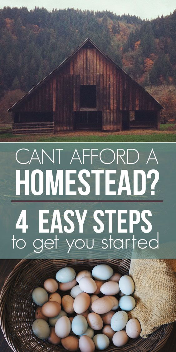 How to start funding the homestead of your dreams - with great resource links