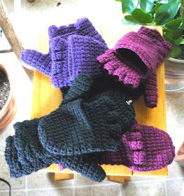 This has perhaps been my most popular crochet project! I first blogged about it here , and have made 8 pairs of these mittens now! I made ...