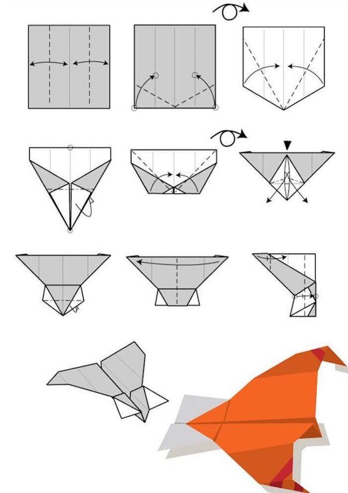 Assez Plus de 25 idées uniques dans la catégorie Avion en papier sur  WO65