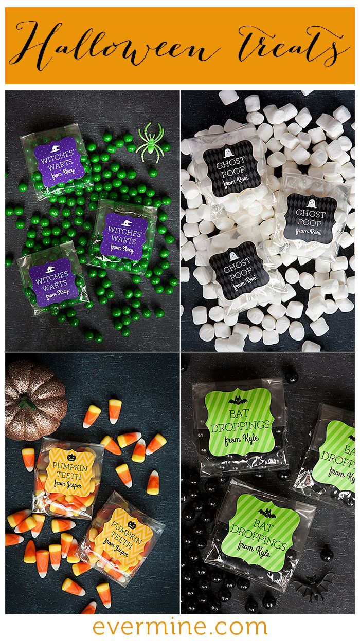 Funny Halloween trick-or-treat candy and packaging ideas | Evermine Occasions | Evermine.com