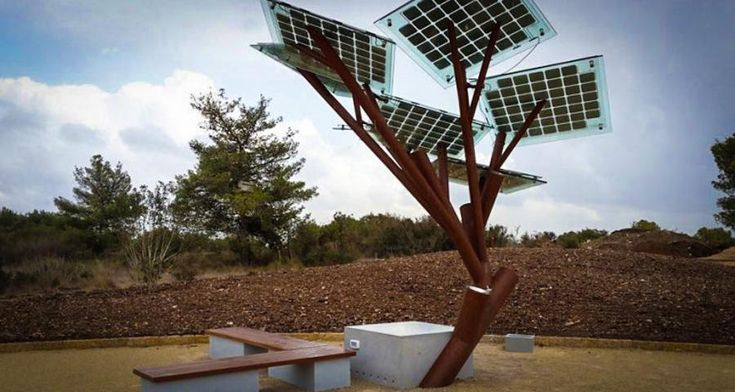 Solar Power Tree