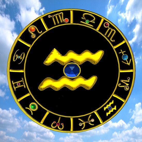 AQUARIUS GOLD ZODIAC BIRTHDAY JEWEL ASTROLOGY CHART #astrology #astrologist #zodiac #psychicreader #zodiacsigns #zodiacal #aquarius