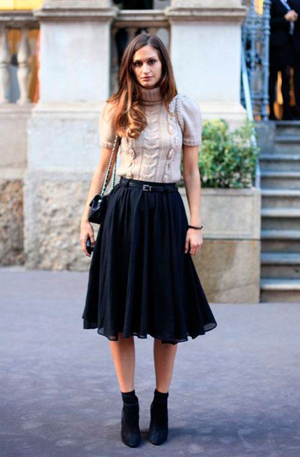 37 best How to wear a midi skirt images on Pinterest