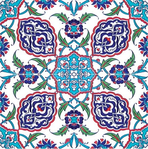 alakate:  Iznik tiles.  One of the many reasons why I'm fascinated by Turkey.